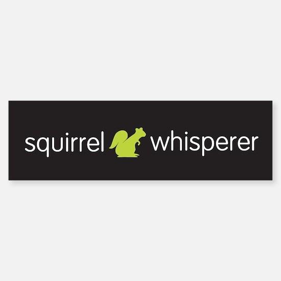 Squirrel Whisperer Sticker (Bumper)