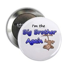 Hanging monkey Big Brother ag Button