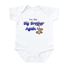 Hanging monkey Big Brother ag Infant Bodysuit