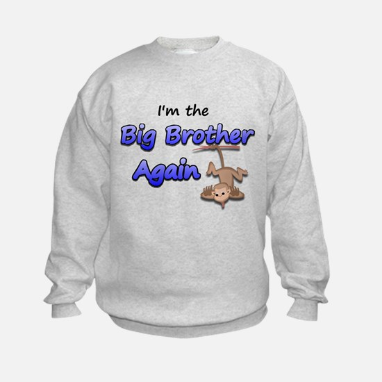 Hanging monkey Big Brother ag Sweatshirt