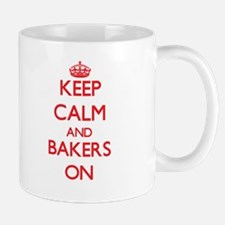 Keep Calm and Bakers ON Mugs