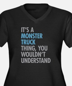 Monster Truck Thing Plus Size T-Shirt
