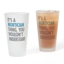 Mortician Thing Drinking Glass