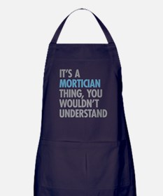Mortician Thing Apron (dark)