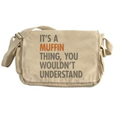 Muffin Thing Messenger Bag