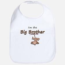 Hanging Monkey-I'm the big br Bib
