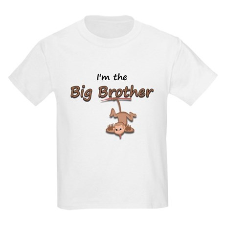 Hanging Monkey-I'm the big br Kids Light T-Shirt