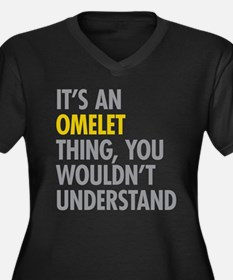 Omelet Thing Plus Size T-Shirt
