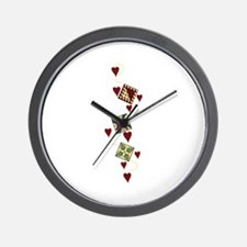 Quilting Design Wall Clock
