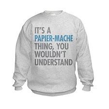 Papier-Mache Thing Sweatshirt