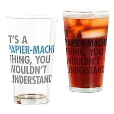 Papier-Mache Thing Drinking Glass