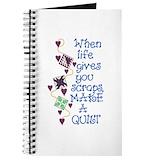Quilting Journals & Spiral Notebooks