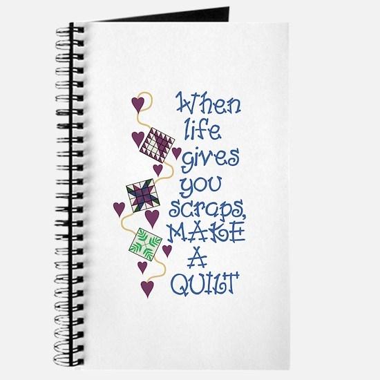 Make A Quilt Journal