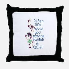 Make A Quilt Throw Pillow
