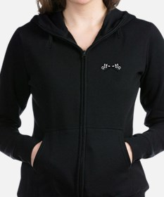 Crossed Racing Flags Women's Zip Hoodie