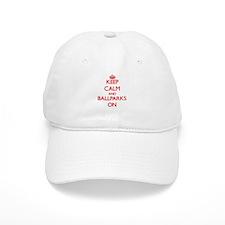 Keep Calm and Ballparks ON Baseball Cap