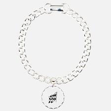 Checkered Racing Flag Bracelet