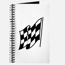 Checkered Racing Flag Journal