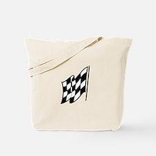 Checkered Racing Flag Tote Bag