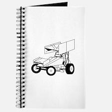 Sprint Car Outline Journal