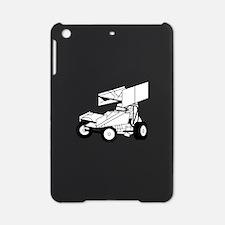 Sprint Car Outline iPad Mini Case