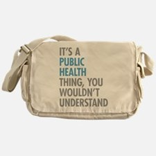 Public Health Thing Messenger Bag