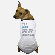 Radio Thing Dog T-Shirt