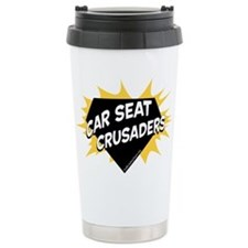 Car Seat Crusaders - Color Travel Mug