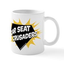 Car Seat Crusaders - Color Mugs
