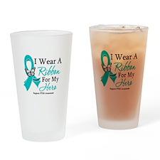 PTSD Drinking Glass