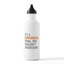 Pumpernickel Thing Water Bottle