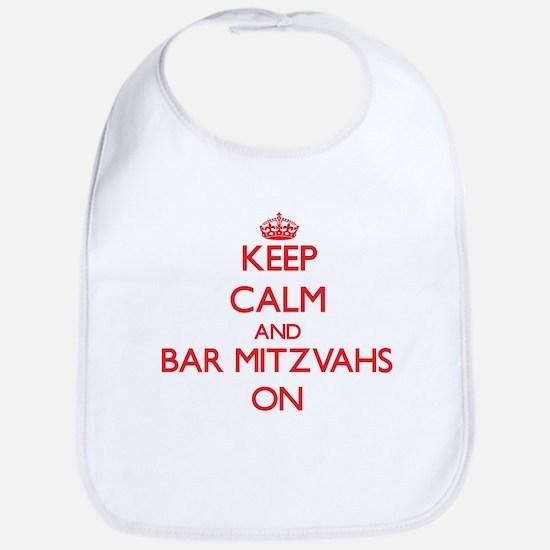 Keep Calm and Bar Mitzvahs ON Bib