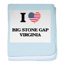 I love Big Stone Gap Virginia baby blanket