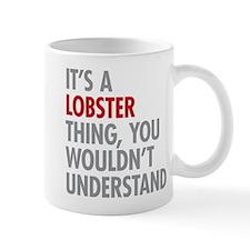 Lobster Thing Mugs