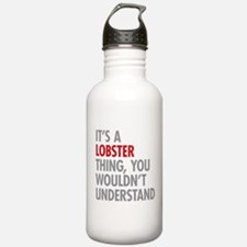 Lobster Thing Water Bottle