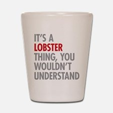 Lobster Thing Shot Glass
