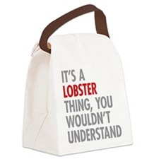 Lobster Thing Canvas Lunch Bag