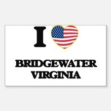 I love Bridgewater Virginia Decal