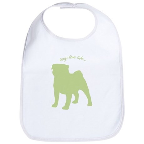 Dogs Love Life! Bib
