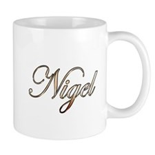 Gold Nigel Mugs