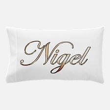 Gold Nigel Pillow Case