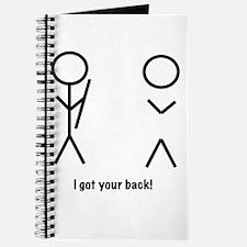 I got your back! Journal
