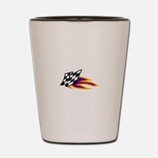 Hot Flag Shot Glass