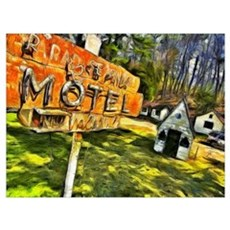 Motel Decay Poster