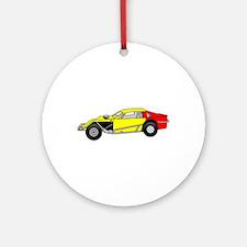 Modified Sportscar Ornament (Round)