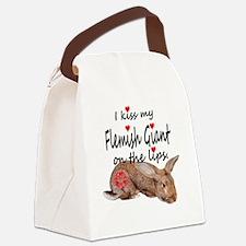 Unique Flemish Canvas Lunch Bag