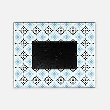 Retro Aqua Graphic Picture Frame
