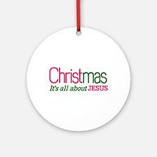 Christmas Ornament (Round)