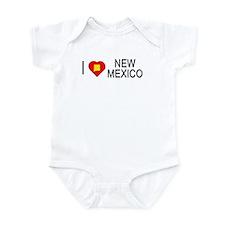 I love New Mexico Infant Bodysuit