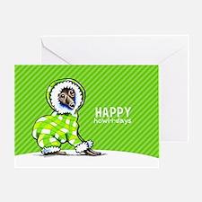 Italian Greyhound SS Christmas Greeting Cards